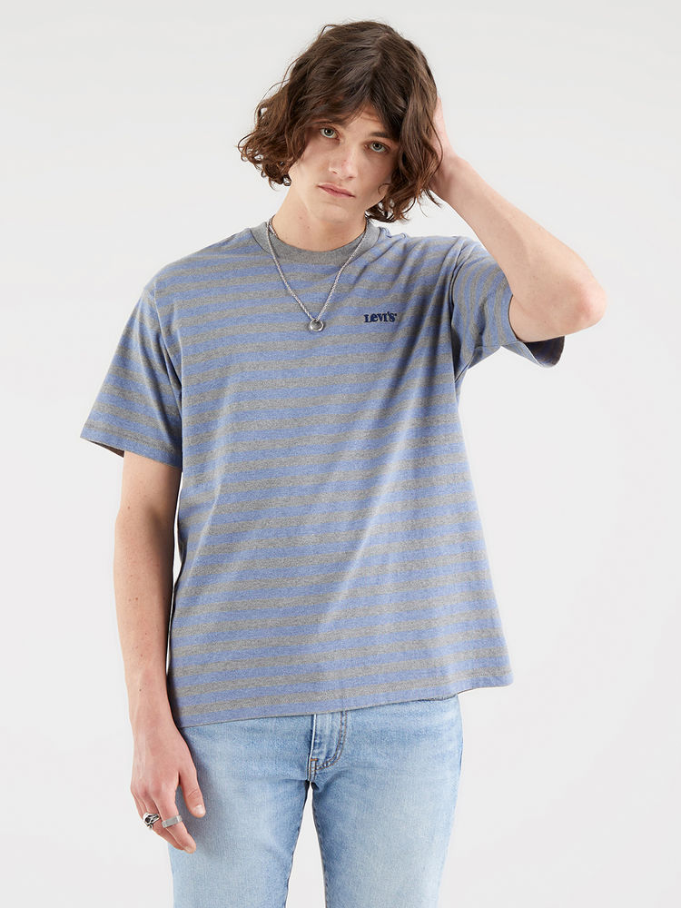 Vintage Fit Tee, Mallow Estate Blue