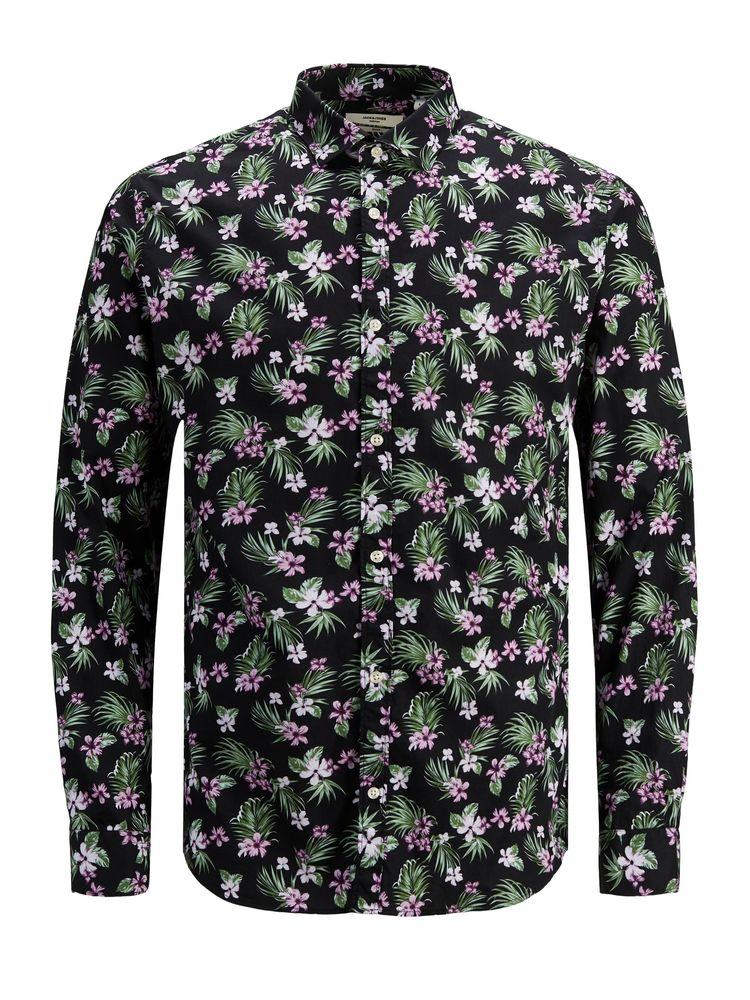 Graduation Print Shirt, Black