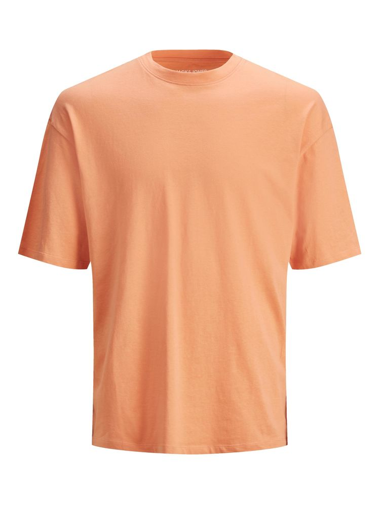 Brink Tee Crew Neck, Shell Coral