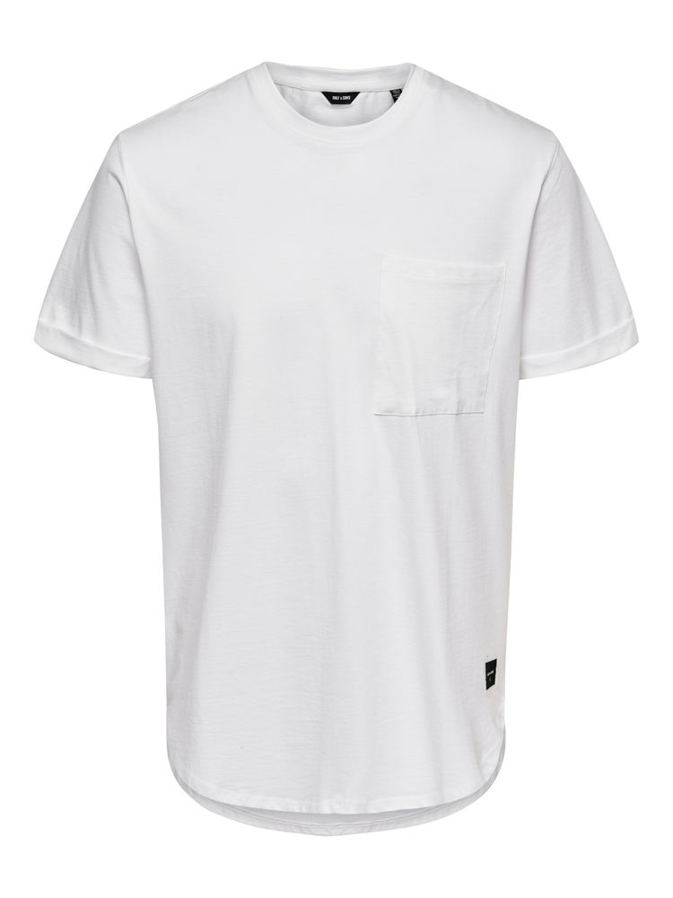 Gavin Life Regular Tee, Bright White
