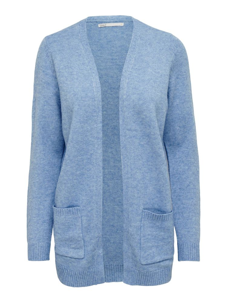 Lesly L/S Open Cardigan, Allure
