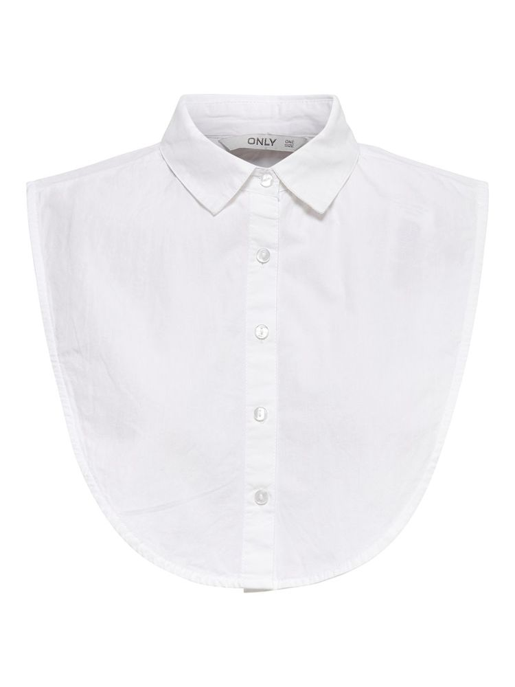 Shelly Weaved Collar, Bright White