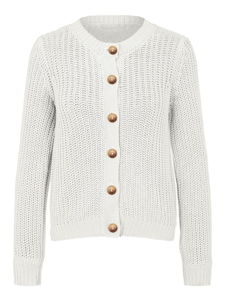 Petula Knit Cardigan, Cloud Dancer