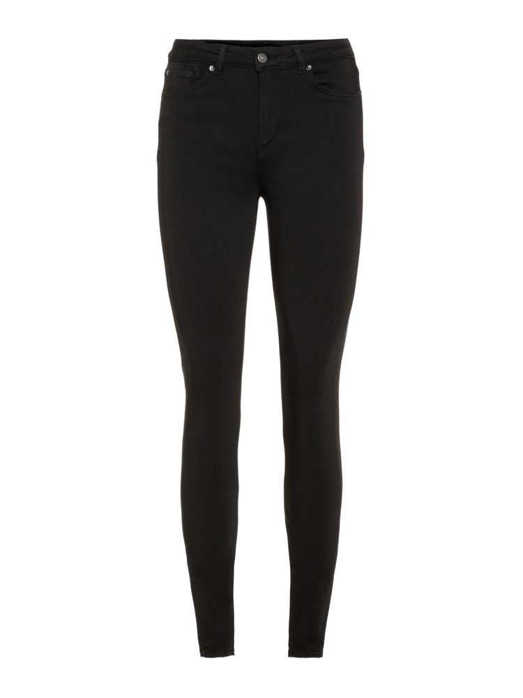 Lux nw Super Stretch Jeans, Black