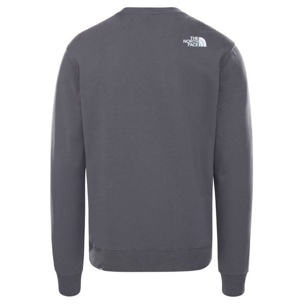 Men Standard Crew, Vanadis Grey