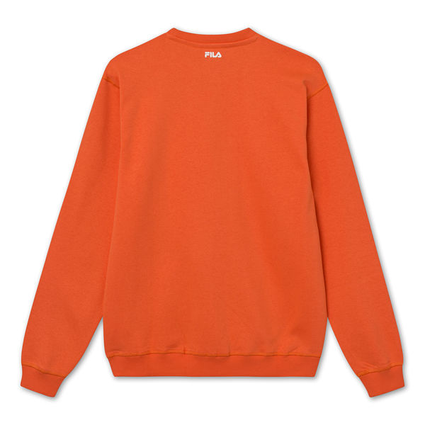 Unisex Classic Pure Crew Sweat , Tiger Lily