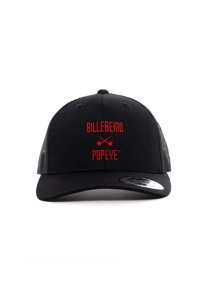 Popeye Trucker Cap, Black