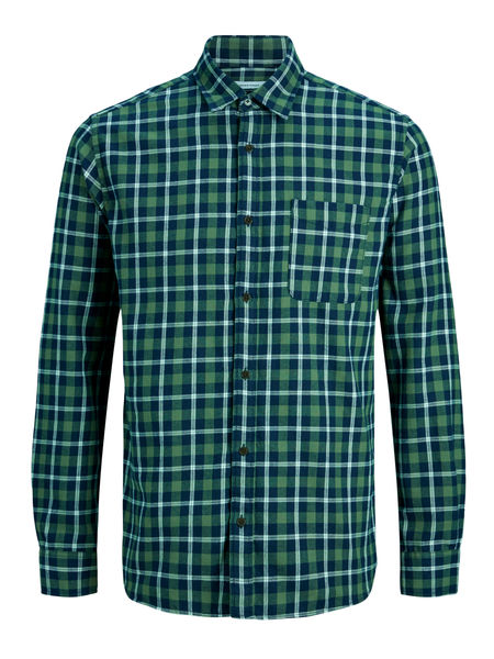 Palin Check Shirt, Forest Night
