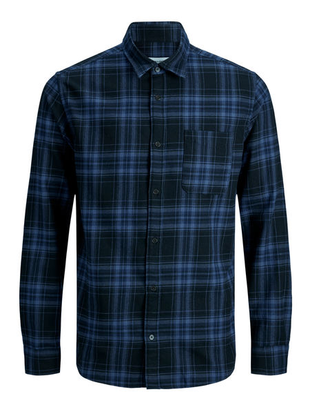 Palin Check Shirt, Black