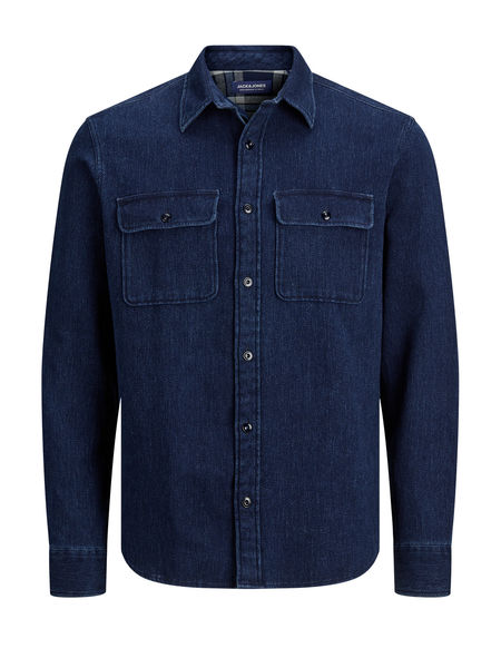 30CPO Shirt, Dark Blue