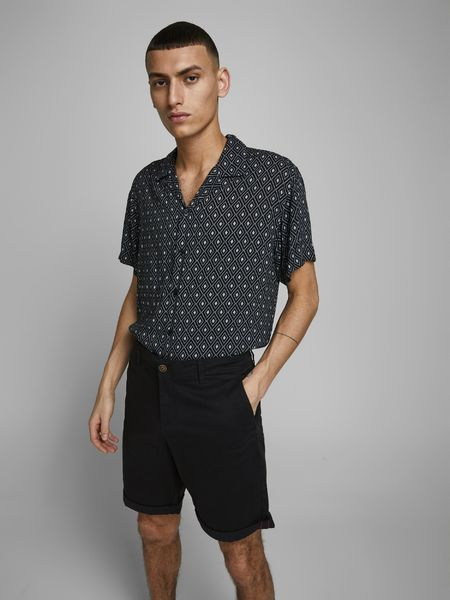 Bowie Shorts Solid, Black