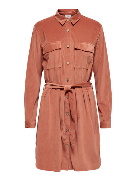 Sofi Corduroy Shirt Dress, Bruschetta
