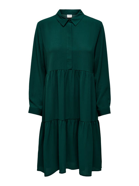 Piper 7/8 Shirt Dress,Ponderosa Pine