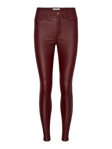 Callie High Waista Skinny Pants, Zinfandel