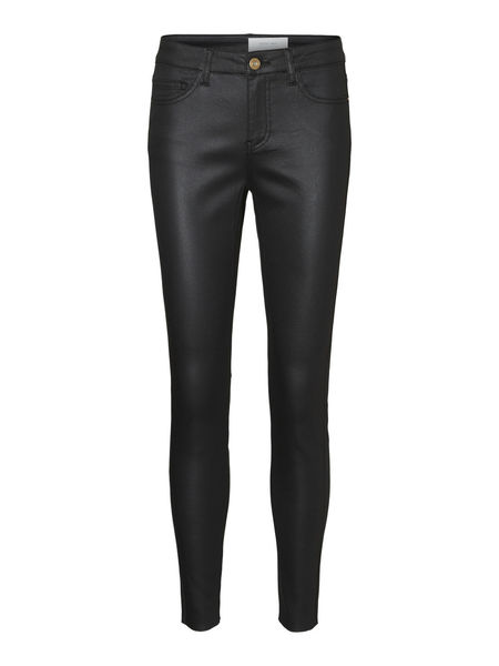 Lucy Coated Pants, Black