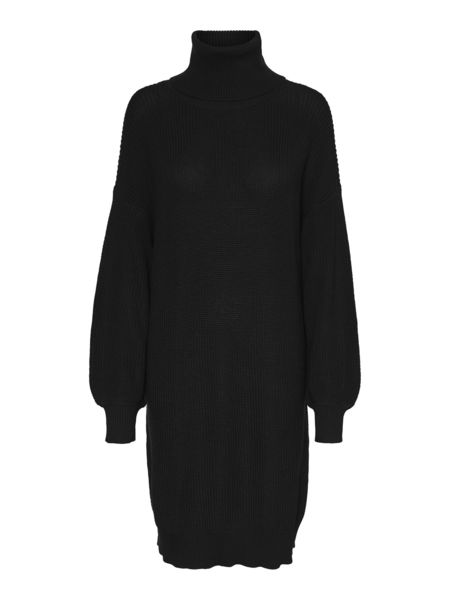 Siesta L/S Roll Neck Knit Dress