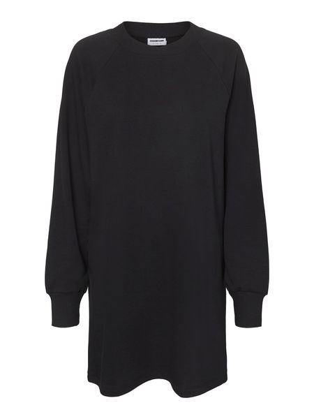 Lupa Sweat Dress, Black