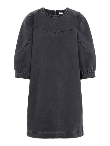 Somine Denim Puffsleeve Dress
