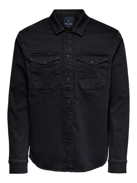 Billy Black Shirt, Black
