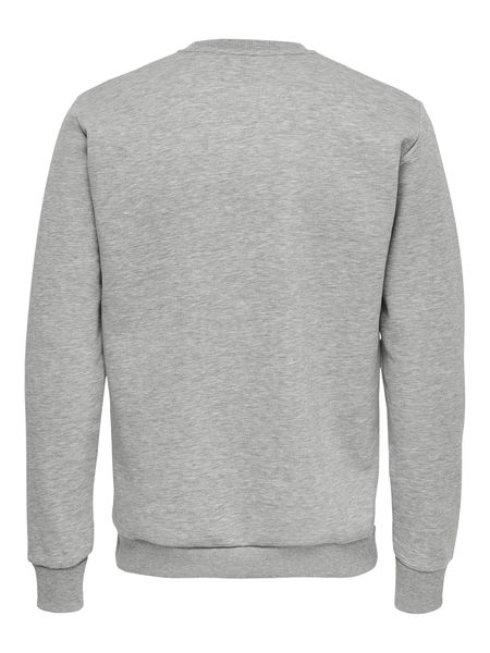 Ceres Life Crew Neck, Light Grey