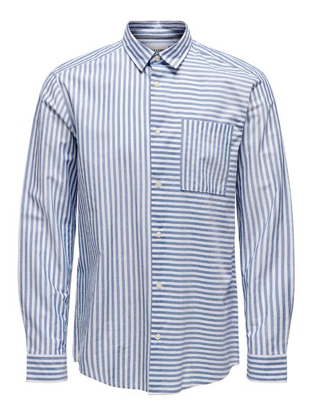 Tripp Life Regular Shirt, Cashmere Blue