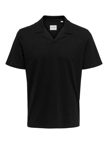 Abraham Life Resort Shirt, Black