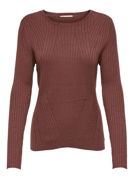 Natalia Rib Pullover, Apple Butter