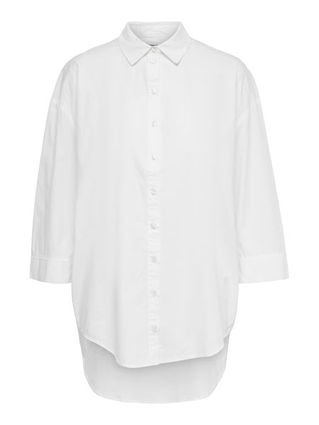 Vigga Life Denim Shirt, White