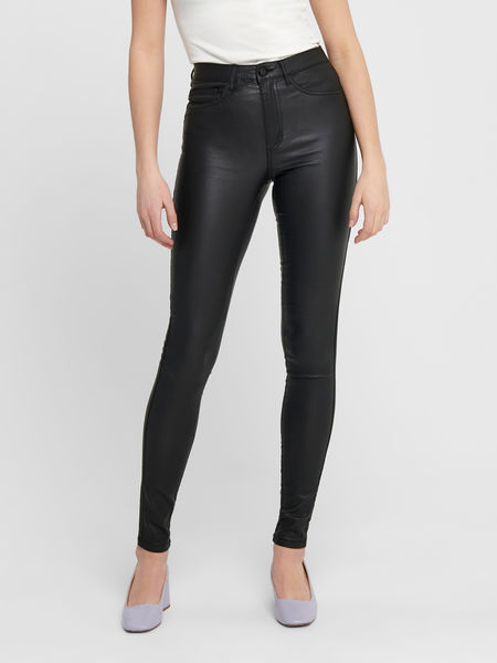 Royal High Waist Rock Coated, Black