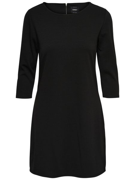 Brilliant 3/4 Dress, Black