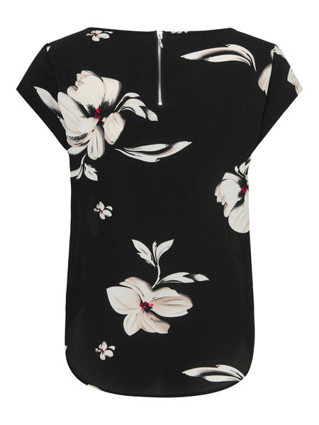 Vic Aop Top, Black Florence