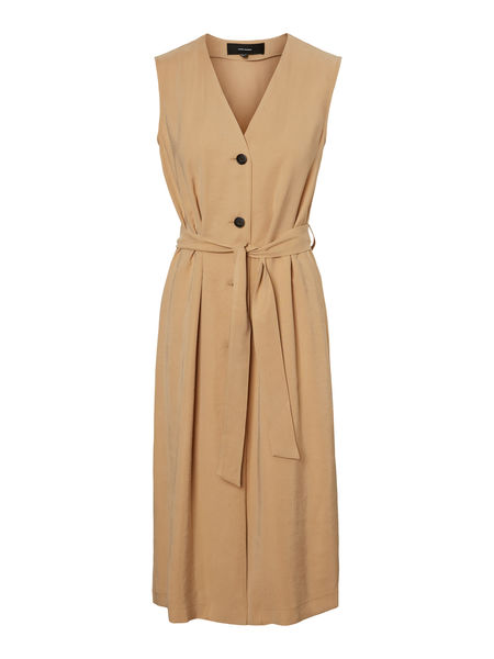 Becca Calf Dress, Tan