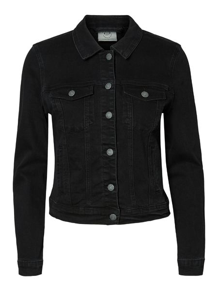 Hot Soya Denim Jacket, Black