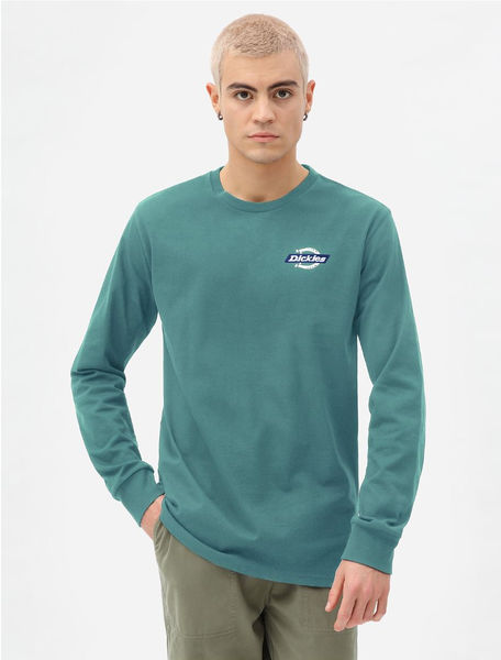 Ruston Long Sleeve T-shirt, Lincoln Green