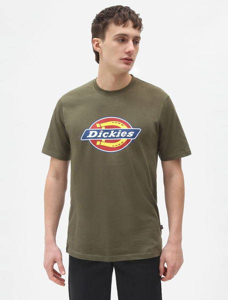 Icon Logo T-shirt, Military Green