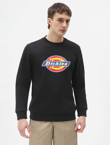 Icon Logo Sweatshirt, Black