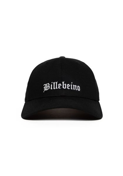 Typography Dad Cap, Black